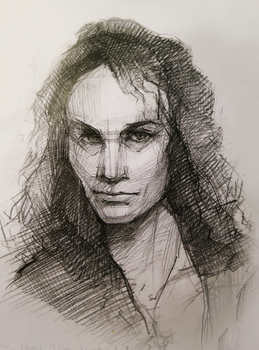 Quick Dio sketch by XenonicWhirlwind