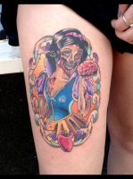 Zombie Snow White by DaneTattoo