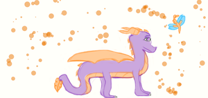 Spyro and Sparx by Topytta