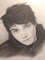 Gerard Way by the-crazy-painter