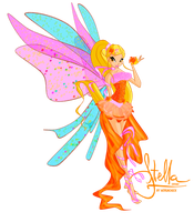 Stella Sirenix PNG by werunchick