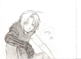 Edward Elric by captainhuh