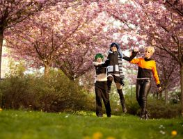 EJF - Under the Cherryblossoms by KashinoRei
