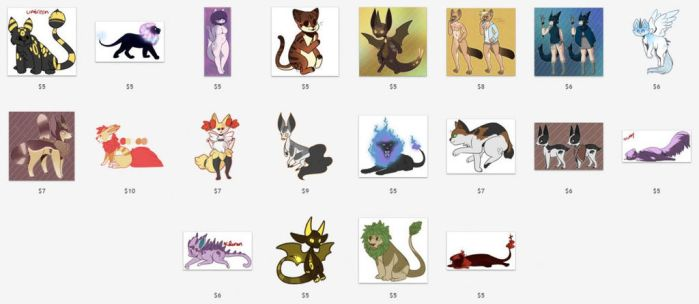 [OPEN] Low Price Adopts (19/20 OPEN) by MiqotesosAdopts