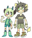 green babies by tontoh