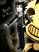 Bendy and the Ink Machine (Human Ver.) by Emil-Inze