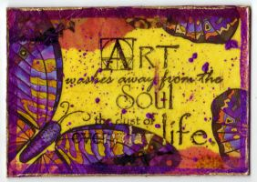 ATC - Art and Soul by motherofthesky
