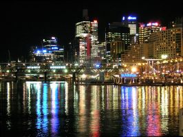 Darling Harbor, Australia by RSSchwede