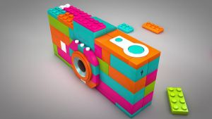 Lego Camera by anthonydillon1