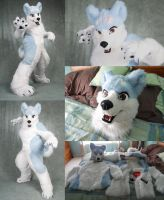 SOLD Gin Fursuit made by Drakonicknight by SteelFangs