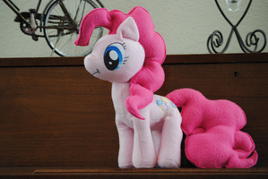 Pinkie Pie Plush by wellnoduh