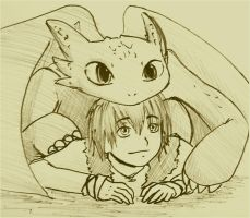 I got a Hiccup by Midorikawa-eMe111