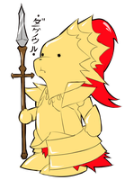 Chibi Ornstein by EvilDei