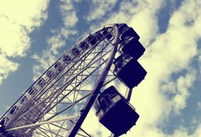 Ferris Wheel in Bristol by TheLovingKind89