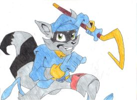 Running Sly by GosiaB12