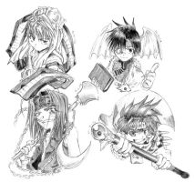 Saiyuki Sketch 02 by IPPUsama