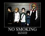 Shizuo No Smoking by KittyNekoVikki