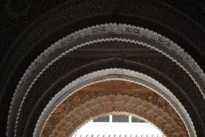 Moorish Archways by Tyyourshoes