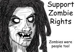 Support Zombies by LadyFoxill
