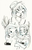 Doodles by Ophelie-c