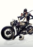 CAFE RACER by Auguy