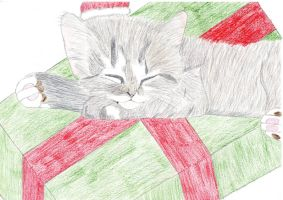 Meowy Christmas by Amita-Eppes