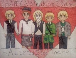 Happy Valentines Day ~ AEI by aliceXmariahXrose