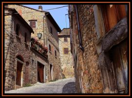 Beautiful Toscana - street by pauljavor