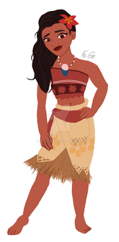 Moana by DIVISION-6