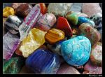 Colourful Stones 02 by DarthIndy