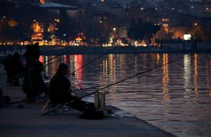 Fisherman by Halic by TanBekdemir