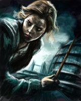 Hermione - Deathly Hallows by ChristyTortland