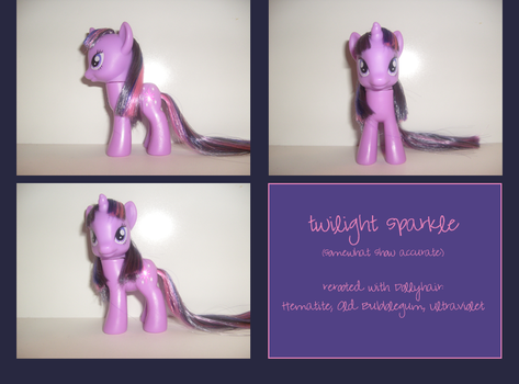 Twilight Sparkle, Rerooted by bonecake