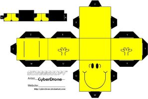 Cubee - Mr. Happy by CyberDrone