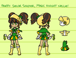 Magical Knight Nellie Character Sheet by Nami-Tsuki