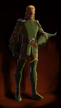 Fandral the Dashing new color by SpiderGuile