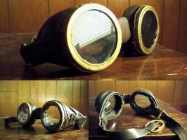 Steampunk Goggles by Xelioth