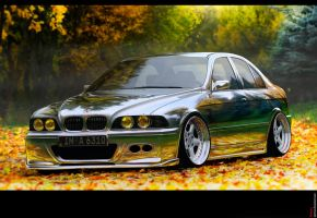 BMW 5 brushed by Ayorius