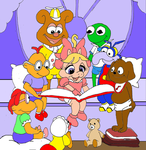 30 years of Muppet Babies by Trey-Vore