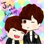 Happy Day Kiseop And Jun by norangelll
