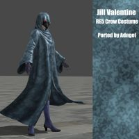 Jill Valentine RE5 Crow Costume by Adngel