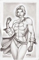 POWER GIRL !!! by carlosbragaART80