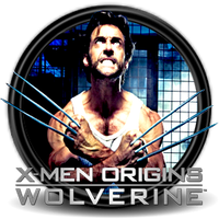 X-men Origins Wolverine Circle icon By Myselph by bymyselph