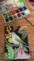 bird card by LoD90