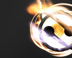 Logo on fire by mj-coffeeholick