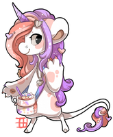 #547 Nomnom BB w/m - Unicorn hot chocolate by griffsnuff