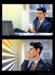 Storyboards for advertising by nicolasammarco