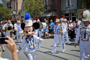 Mickey Leading One Man Parade by ExplicitStudios