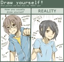 Draw yourself meme by Valia292