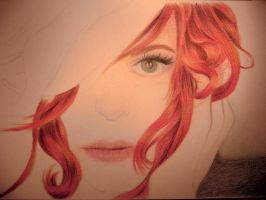 Red-haired - WIP by neressia